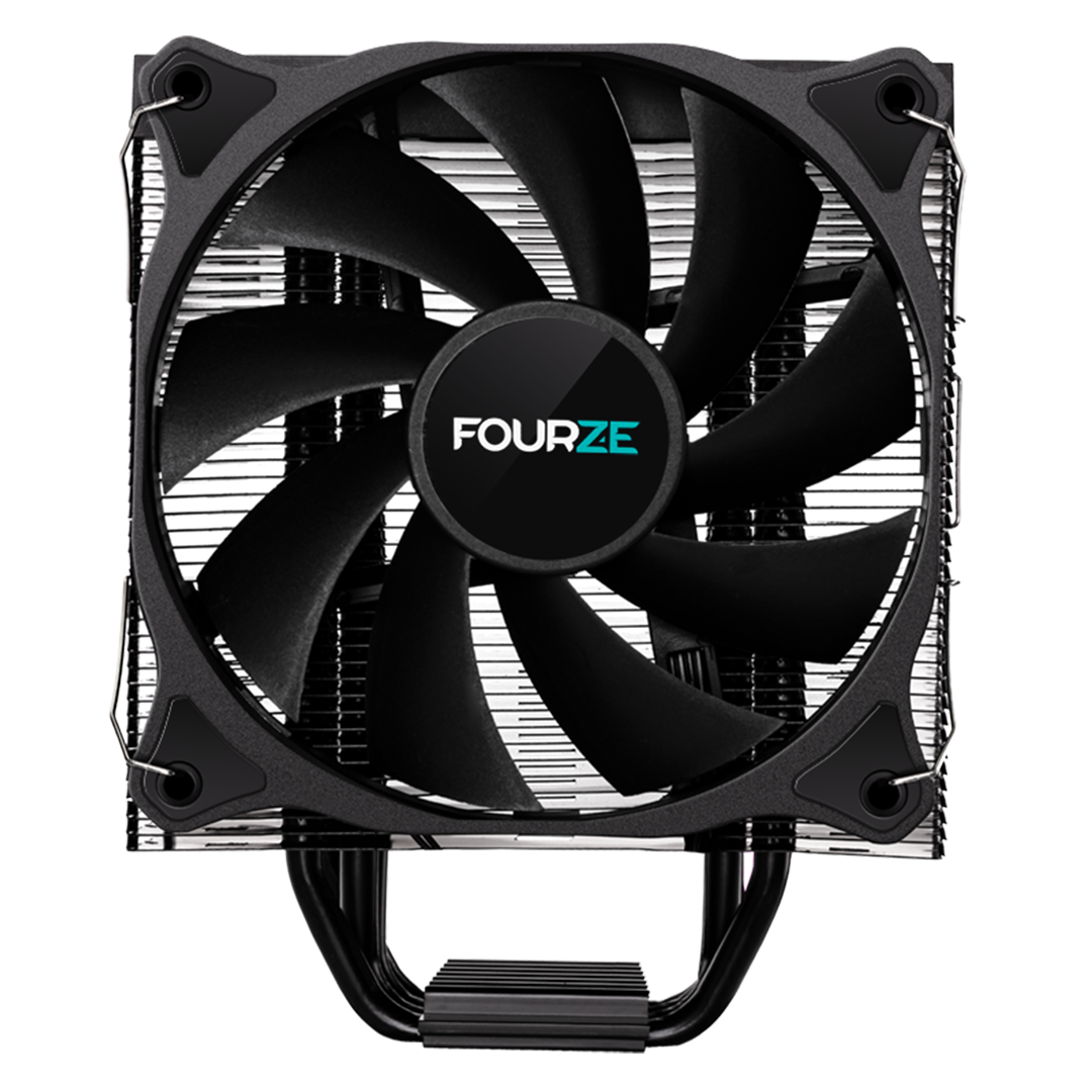 CC100/CC200 CPU cooler product image seen from the front. Shown is the CC100 CPU Cooler.