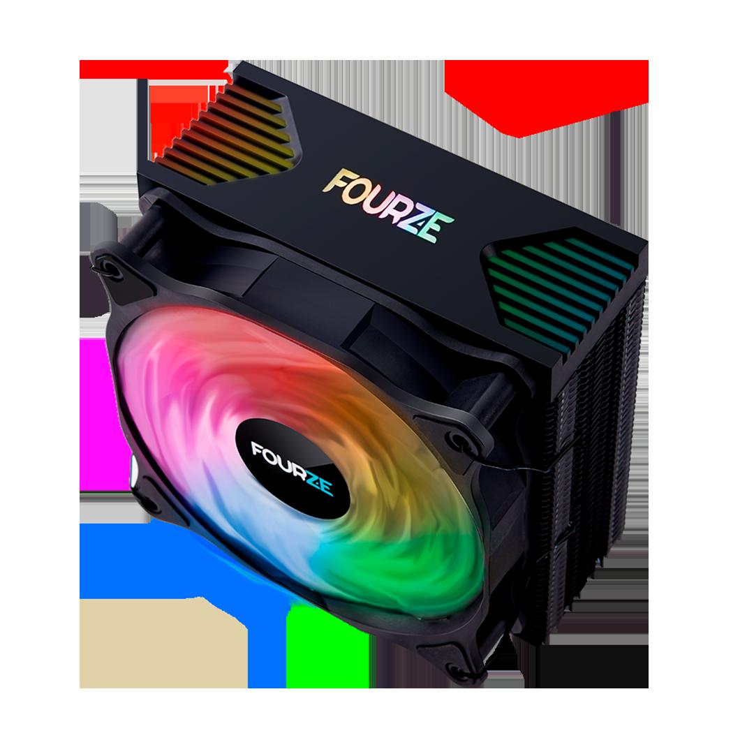 FOURZE CC200 RGB CPU Cooler product image.