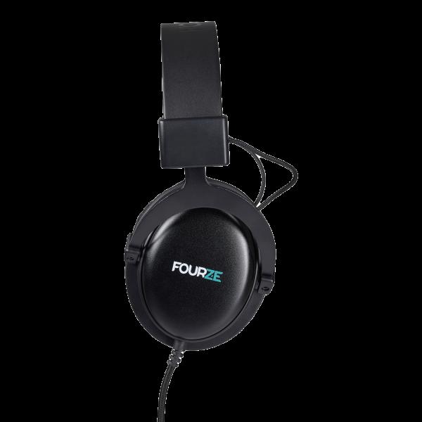 FOURZE GH300 Gaming Headset Produktbillede set fra venstre side.