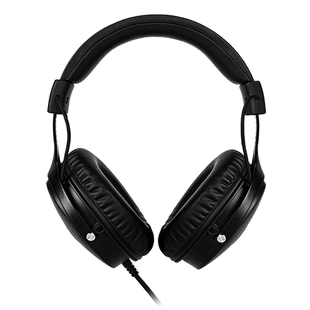 FOURZE GH350 RGB Gaming Headset product image seen from the back