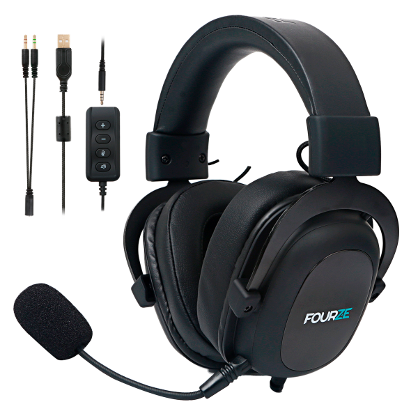 FOURZE GH500 Gaming Headset, black