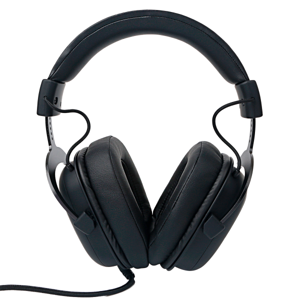 FOURZE GH500 Black Gaming headset seen from the back.