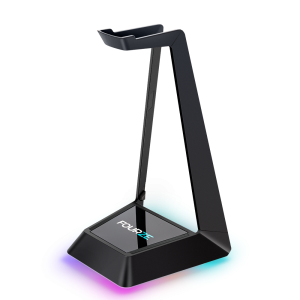 FOURZE Ember headset stand with wireless charging.