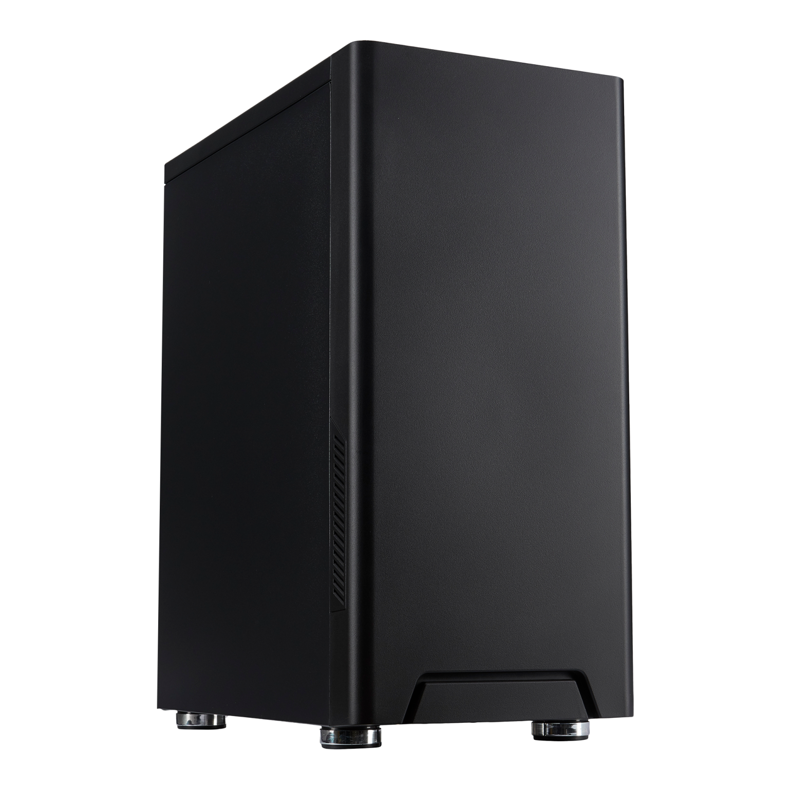 FOURZE T100 Gaming Case product image. Seen from the left front.